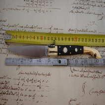 Logudoresa cm12 in muflone con inserti in avorio F