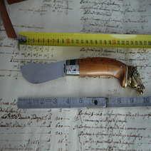Knife juniper Arabian Horse  cm 10 Augusto Curreli