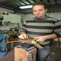 Pattada in muflone rustico cm 15 Giuseppe Galante