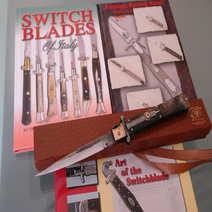 Italian Switchblade Molise knife mouflon cm 35
