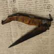 Antico coltello sardo Francesco Porcu cm 46