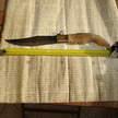 Antico coltello sardo Francesco Porcu cm 54