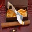 Zigarren messer cm 5 Matteo Pusceddu Arbus