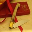 Orgosolo coltello in muflone pattadese cm 10
