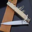 Klassisches Springmesser mit Elfenbein cm 34,5