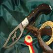 Messer Arabian Horse Augusto Curreli Ebenholz Grif