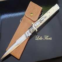 Italian stiletto Ivory cm 34,5 Lelle Floris