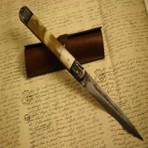 Molise knife cm 32 realized by Lelle Floris