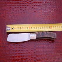 Mozzetta  in muflone rustico cm 8,5 G. Galante