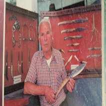 traditional sardinian knife cm 9 Vittorio Mura