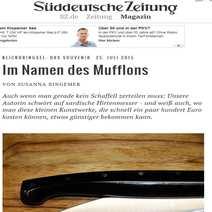 Autentico e tipico coltello sardo cm 11,5 Orgosolo