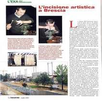 Onorato Zuddas LOCK-BACK inciso Lorenzo Gamba