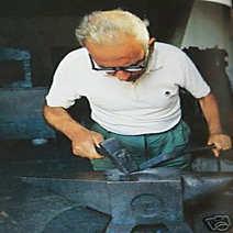 Vittorio Mura scuoio corno bianco cm 11