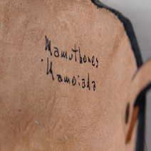 Mamuthone in cuoio