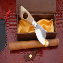 Cigar cutter  pocket knife Mateo Pusceddu Sardinia