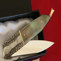 (SOLD) Knives Salvatore Puddu