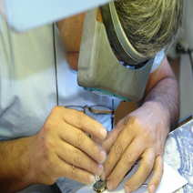 Salvatore Puddu Semi Skinner con incisioni