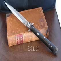 Italian switchblade antique model Lelle Floris