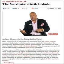 Italian switchblade Damascus vinland Lelle Floris