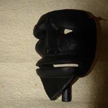 Merdules maschera di Peppino Zichi  Orani