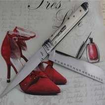 Razor Double Blade Switchblade Lelle Floris cm 33