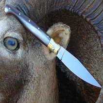 Tipico coltello sardo pattadese cm 10 R. Monni