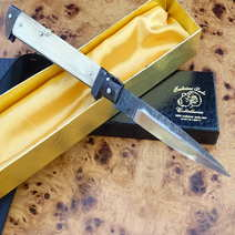 Antico coltello a scatto cm 12 Lelle Floris