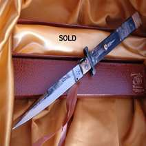Italian Switchblade stiletto cm 17,5 Lelle Floris