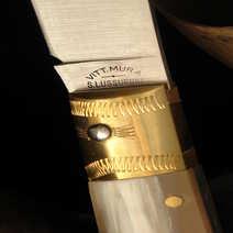 Pattada da 12  Vittorio Mura in corno biondo
