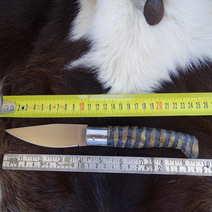 Pattada  cm 11 con manico zigrinato A. Contini