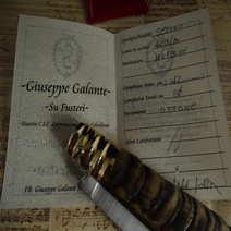 Pattada rustica in muflone cm 12 Giuseppe Galante