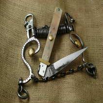 Italian switchblade Antonio Contini cm 30