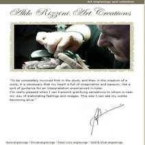 ALDO RIZZINI-MAESTRO D'ARTE-INCISIONI