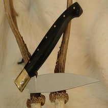 Pattada 12 cm Silvano Usai corno nero