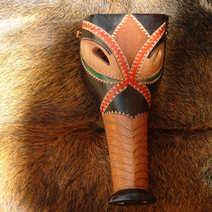 Maschera sarda Su porcu Denti Ottana