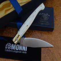 Pattada corno bianco cm 10 Roberto Monni