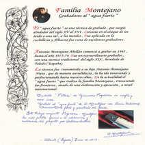 G. Fogarizzu Montejano  Pattada  cm 12