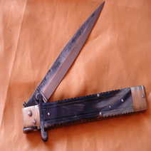 Molise knife Lelle Floris cm 35 mouflon