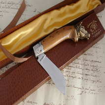 Knife Juniper Arabian Horse Augusto Curreli cm 10