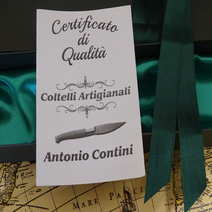 Mozzetta in ulivo cm 8,5 Antonio Contini