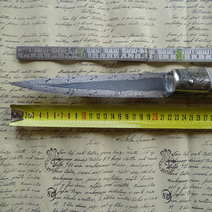 Gesturese gigante in damasco cm 48 Gallotta