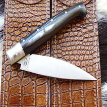 Vittorio Mura Pattada cm 10 corno nero striato