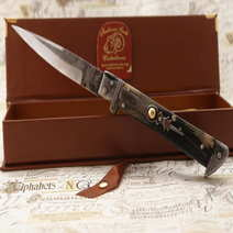 Italian stiletto molise knife cm 11 L. Floris