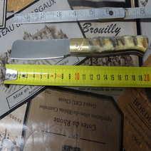 Mozzetta in muflone rustico cm 8,5