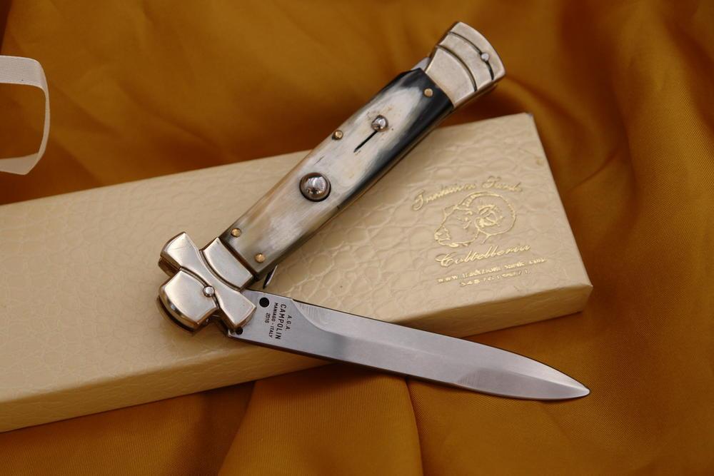 A G A  CAMPOLIN MANIAGO ITALY CM 10 - SARDINIAN KNIVES - KNIVES
