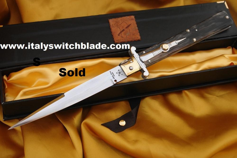 7368face49a805 Springmesser Stiletto Molise knife cm 35 - SARDISCHE MESSER ...
