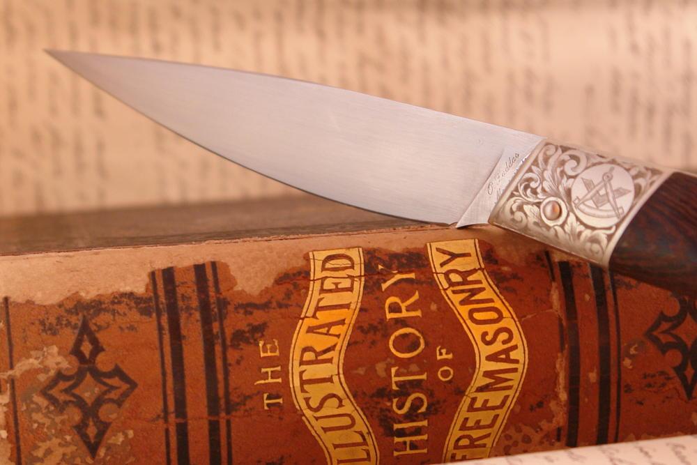 Knife Master Mason Freemason Masonic - SARDINIAN KNIVES - KNIVES