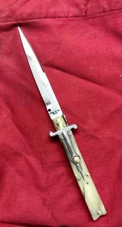 Molise knife cm 13 ram's horn Lelle Floris