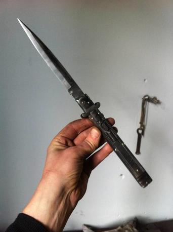 Molise knife mouflon cm 35 Lelle Floris