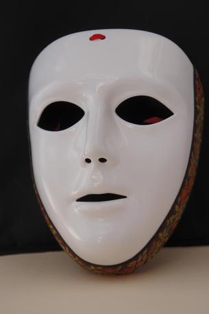 Maschera Sartiglia originale Vitaliano Manis